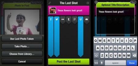 The Last Shot, comparte tu última foto rápidamente en varios servicios a la vez