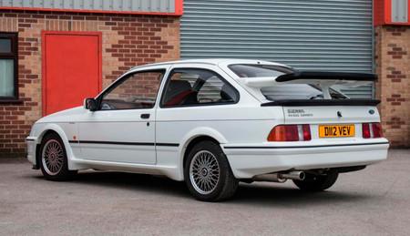 El primer Ford Sierra Cosworth RS500, a subasta