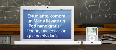 Vuelta al cole con Apple