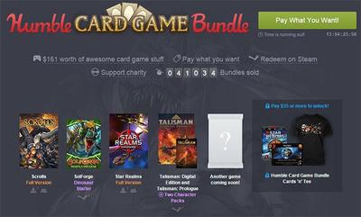 Humble Bundle pone las cartas sobre la mesa con su nuevo Humble Card Game Bundle