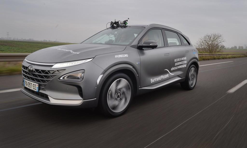 ¡Marchando un récord de autonomía! El SUV de hidrógeno Hyundai Nexo recorre 778 km con una sola carga