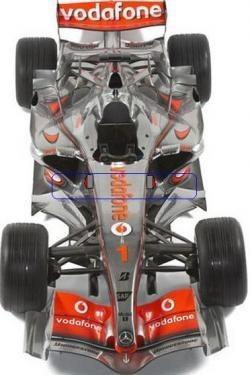 Aletillas del McLaren