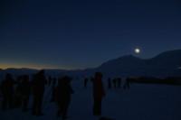 Viendo el eclipse solar desde Europa, y desde el espacio
