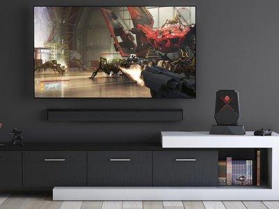 HP Omen X 65: un monitor de 65 pulgadas de diagonal equipado con una Nvidia Shield en su interior