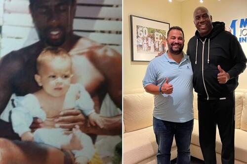 El robado a Magic Johnson con un bebé que dio lugar a la 'startup' de vídeos de famosos personalizados de la que ahora es directivo