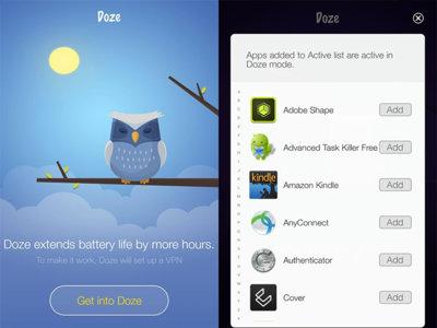 Se llama Doze, pero no funciona como Doze en Marshmallow: una app para ahorrar batería
