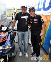 Moto GP Valencia 2010: el riesgo de ser el último