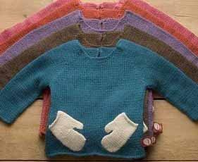 Jersey con guantes incorporados