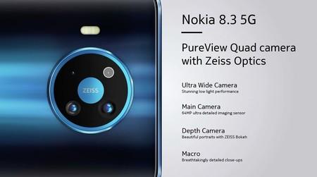 Nokia 8 3 5g Camaras