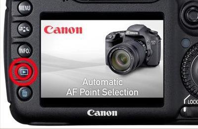 16 videotutoriales de la Canon 7D para ver directamente en la cámara