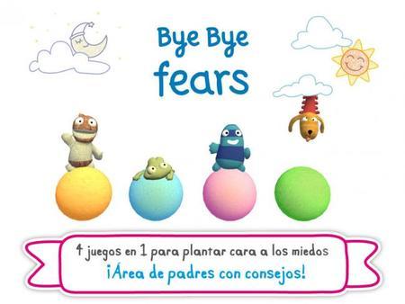 Bye bye fears, la aplicación de Fluff para decir adiós a los miedos infantiles