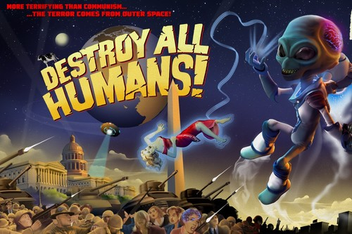 Análisis de Destroy All Humans!: un remake que mezcla caos y chistes malos mejorando y ampliando el clásico doble A