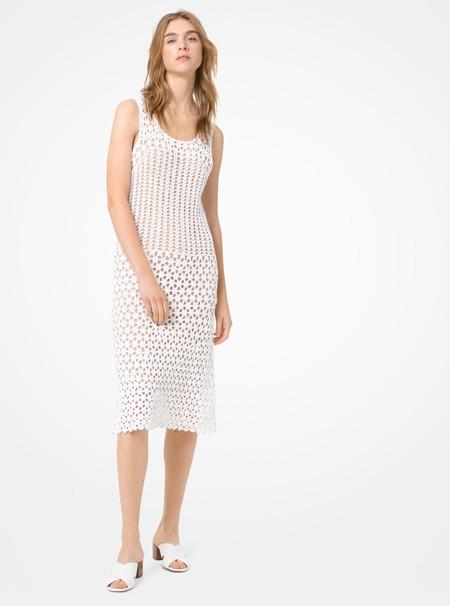 Vestido Crochet Blanco Rebajas