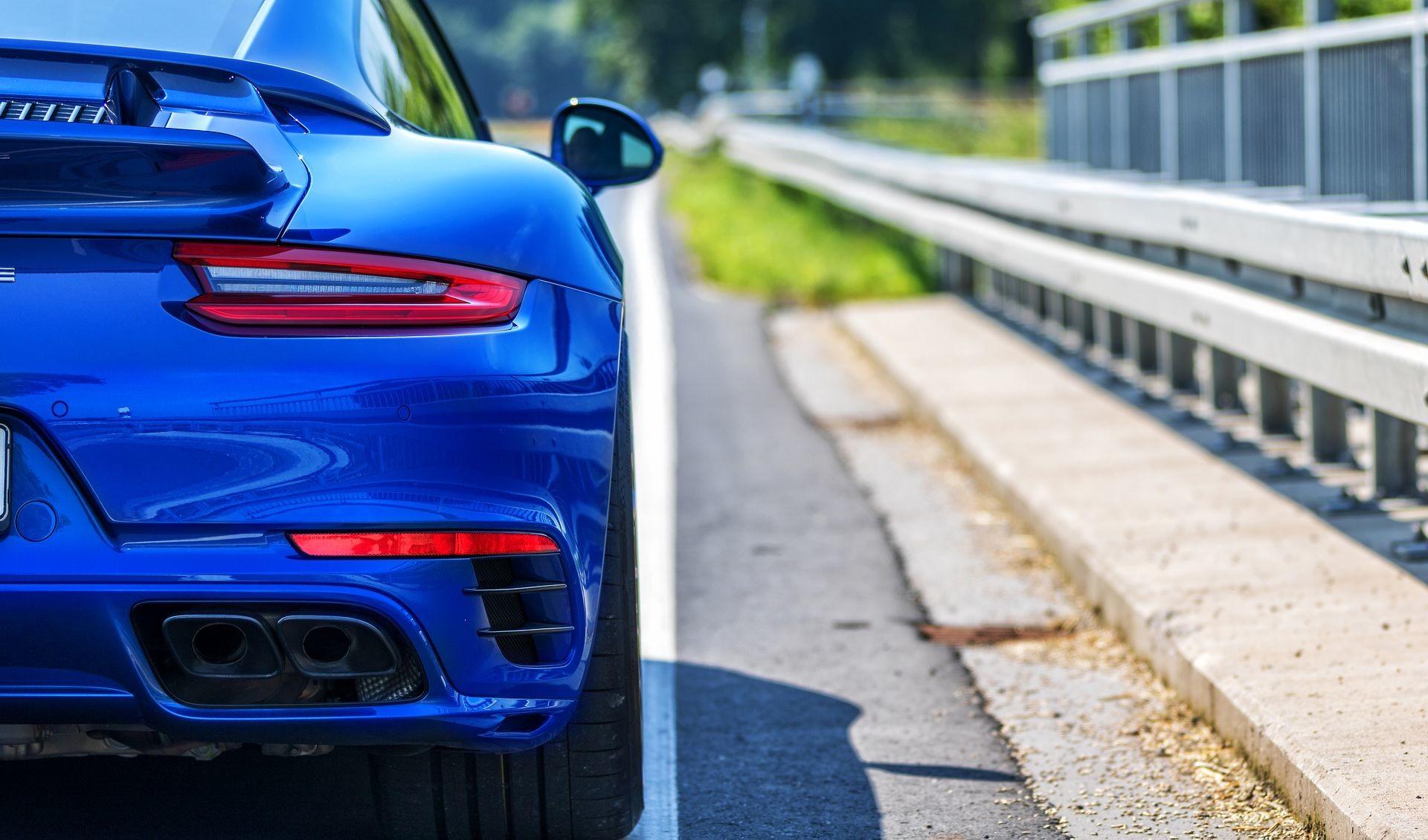 Foto de Porsche 911 Turbo S Blue Arrow (19/25)