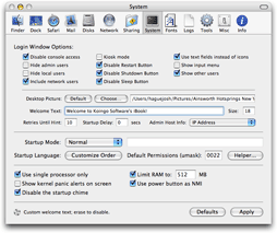Mac Pilot: Activa opciones ocultas de Mac OS X y optimiza el sistema