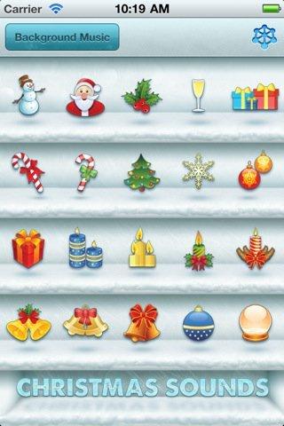 christmas sounds and music