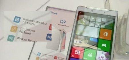 Ramos Q7, un phablet de 7 pulgadas y batería de 4000 mAh con Windows Phone