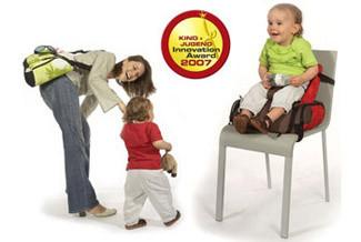 Hoppop: bolso para pañales y asiento para bebé, todo en uno
