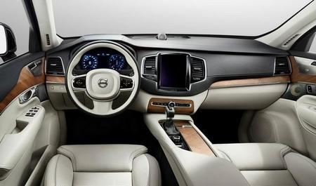 El nuevo Volvo XC90 dispondrá de una gran pantalla táctil central como parte de su lujoso interior