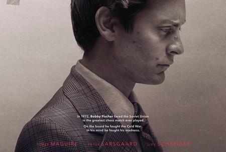 'Pawn Sacrifice', póster de la película sobre el duelo de ajedrez más épico de la historia