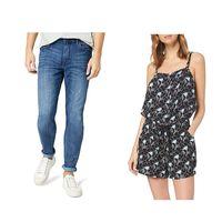 Chollos en tallas sueltas de pantalones, camisetas y vestidos de marcas como Levi's, Pepe Jeans  o Lee en Amazon por menos de 30 euros