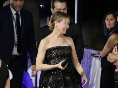 Una espectacular Renée Zellweger en el estreno de Bridget Jones's Baby en Madrid