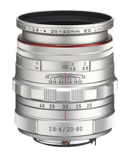 Pentax anuncia dos nuevos objetivos: HD PENTAX-DA 20-40mm F2.8-4ED y PENTAX-08 WIDE ZOOM