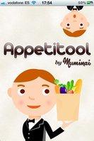 Appetitool, un recetario con información nutricional en tu iPhone