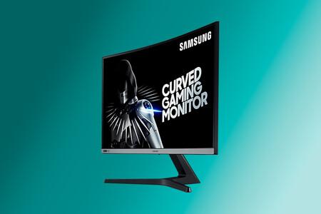 """El monitor curvo de 27"""" Samsung C27RG50 con G-Sync y 240 Hz está rebajado a 249,99 euros en Amazon, su mínimo histórico"""