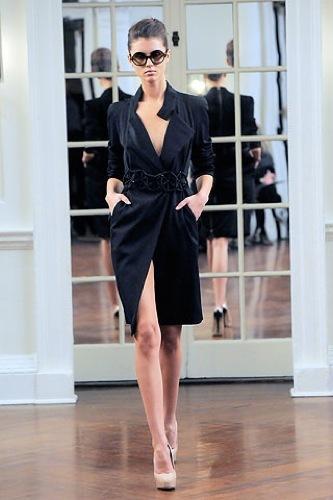 Victoria Beckham, Otoño-Invierno 2010/2011 en la Semana de la Moda de Nueva York VII