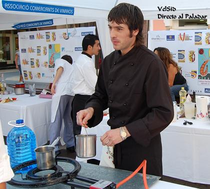 Participantes del Concurso Nacional de Cocina Aplicada al Langostino de Vinaròs