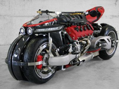 La última brutalidad de Lazareth. Un motor Maserati V8 de 470 cv y cuatro ruedas en la LM 847