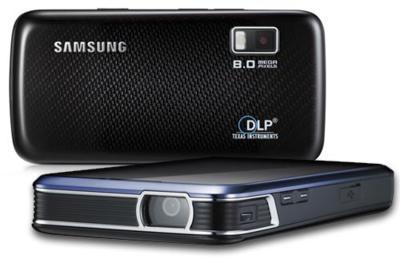 Samsung i8520 Beam, veamos su pico proyector en funcionamiento