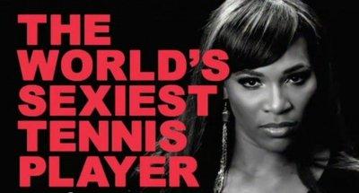 Serena Williams... ¿qué anuncias, un videojuego o tu próxima película porno?