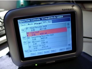 OpenTOM, reemplazo del sistema operativo del TomTom