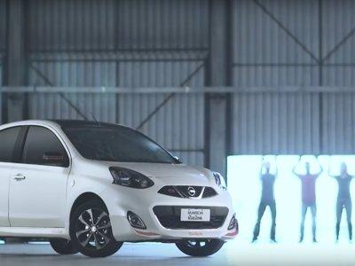 Nissan se une a la fiesta de los Juegos Olímpicos con el March Río 2016