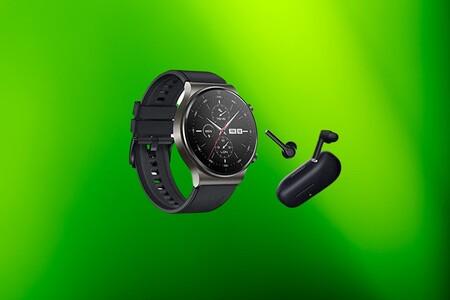 El día del padre regala el elegante smartwatch HUAWEI Watch GT2 Pro de oferta a 249 euros y con los auriculares FreeBuds 3i gratis