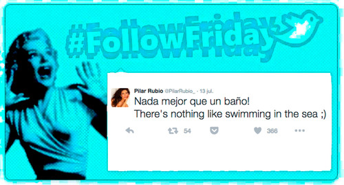 #FollowFriday de Poprosa: cuerpazos veraniegos, amores de Instagram y rollo happy