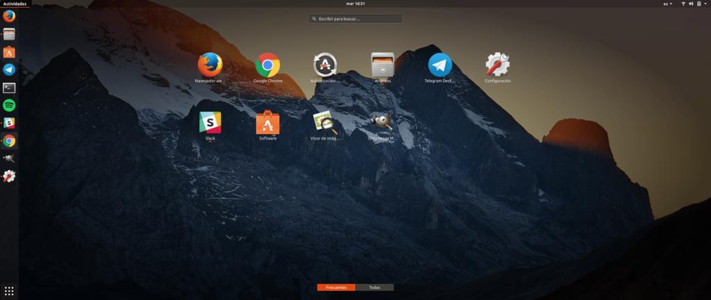 Ubuntu 17(diecisiete) 10(diez) Actividades