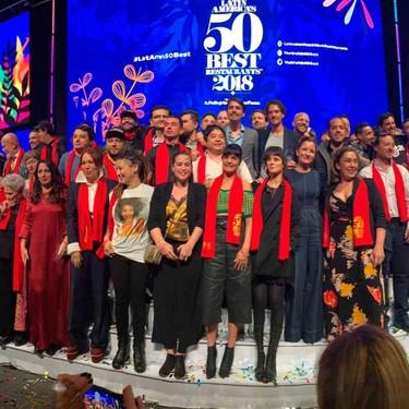 México destaca en la lista de los ganadores de los 50 Mejores Restaurantes de Latinoamérica 2019