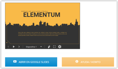 Elementum Template Para Google Slides Free Google Slides Templates
