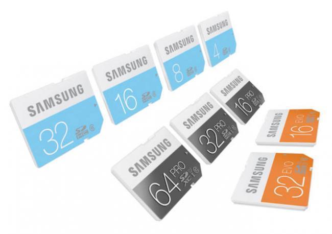 Samsung prepara el lanzamiento de una amplia gama de tarjetas SD UHS-I Class 1