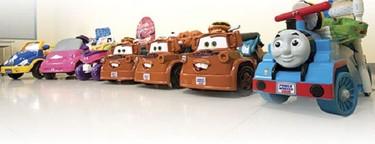 Go baby go, el proyecto que construye sillas de ruedas a partir de coches de juguete