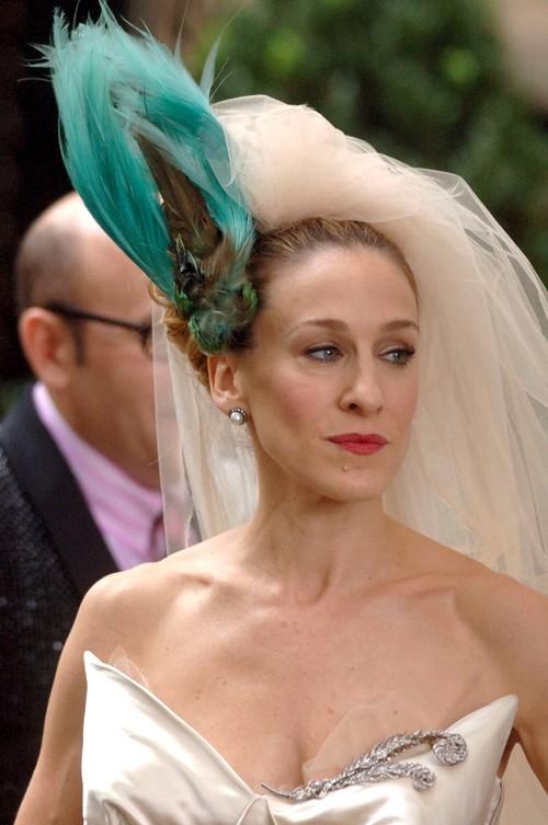 Inspírate en estos vestidos de novia ¡de película!