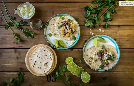 Vídeo receta de tacos al pastor, todo un clásico de la cocina mexicana