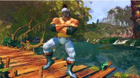 Street Fighter IV. El Fuerte Â¿bailando el Chiki Chiki?