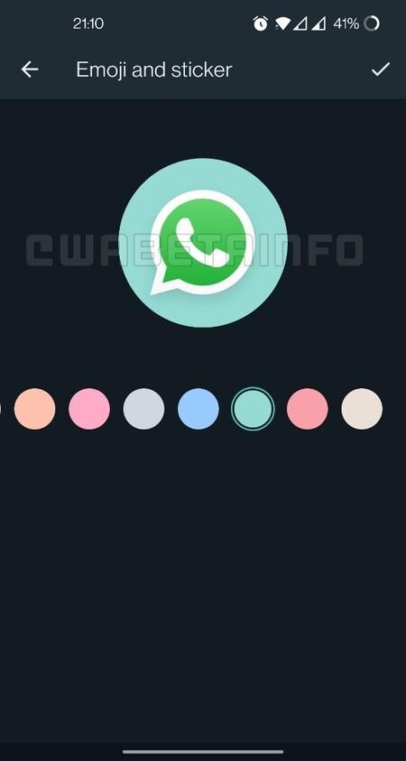 Editor de iconos de Grupo en Android