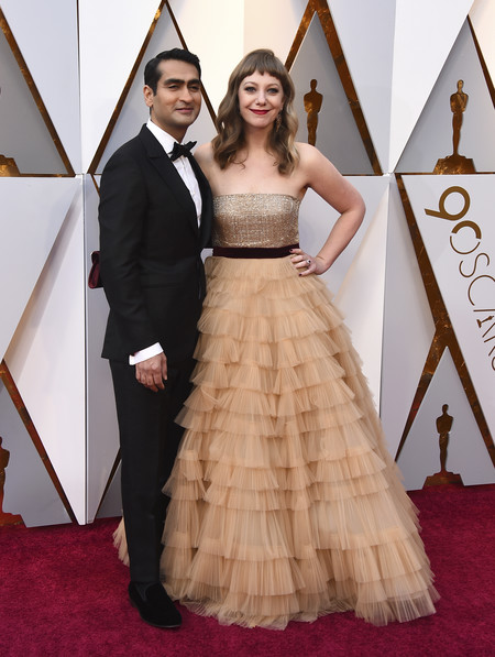 Oscars 2018 Kumail Nanjiani And Emily V Gordon