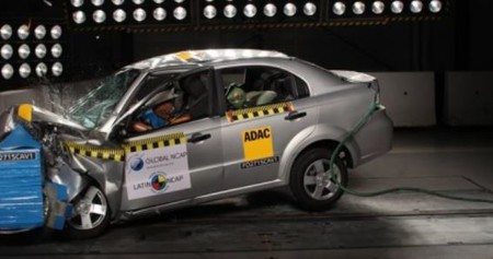 Aveo Crash Test 1