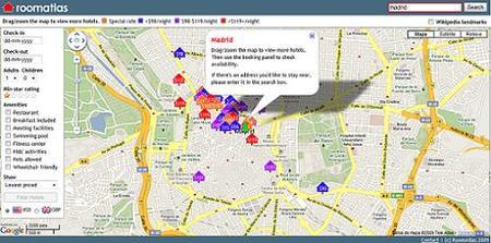 Room Atlas, buscador de hoteles con datos y críticas incluídas